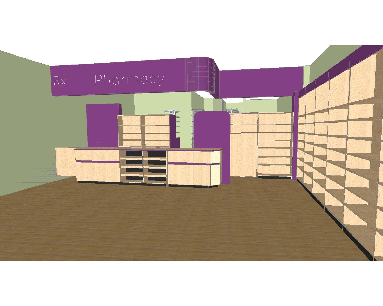 Pharmacy Design – Store Planning – Retail Store Design – Store Fixtures