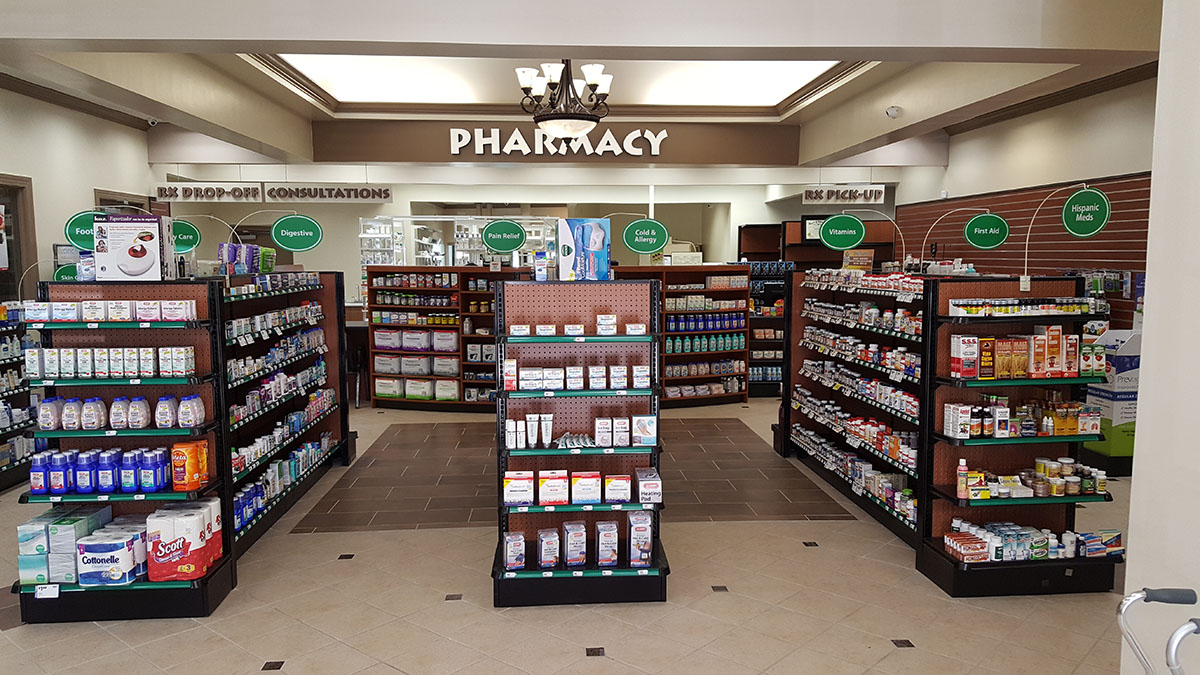 Store Planning Services | Pharmacy Design | Retail Store Design | Store Fixtures